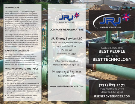 BROCHURE - JRJ ENERGY SERVICES