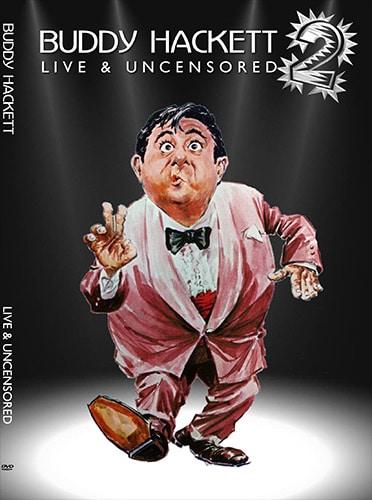 DOUBLE DVD CASE - BUDDY HACKETT