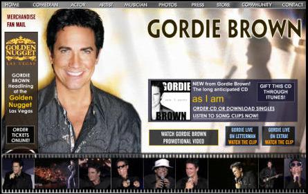 WEBSITE - GORDIE BROWN (ARCHIVES)