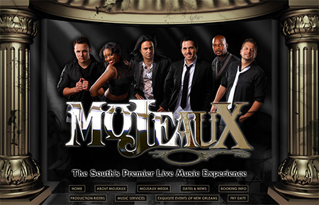 WEBSITE - MOJEAUX BAND (ARCHIVES)