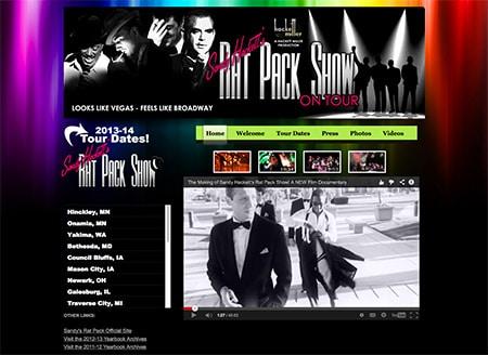 WEBSITE - SANDY'S RAT PACK TOUR (ARCHIVES)