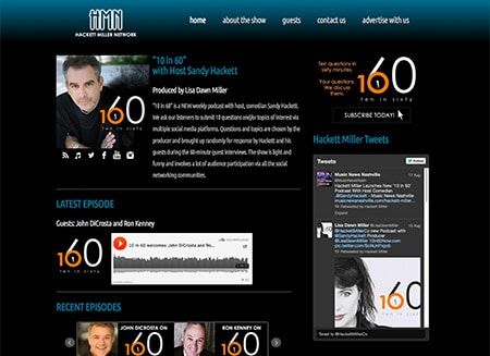 WEBSITE - 10 IN 60 (ARCHIVES)