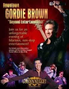MAGAZINE AD - GORDIE BROWN