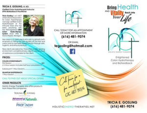 Brochure - Holistic Energy Therapies