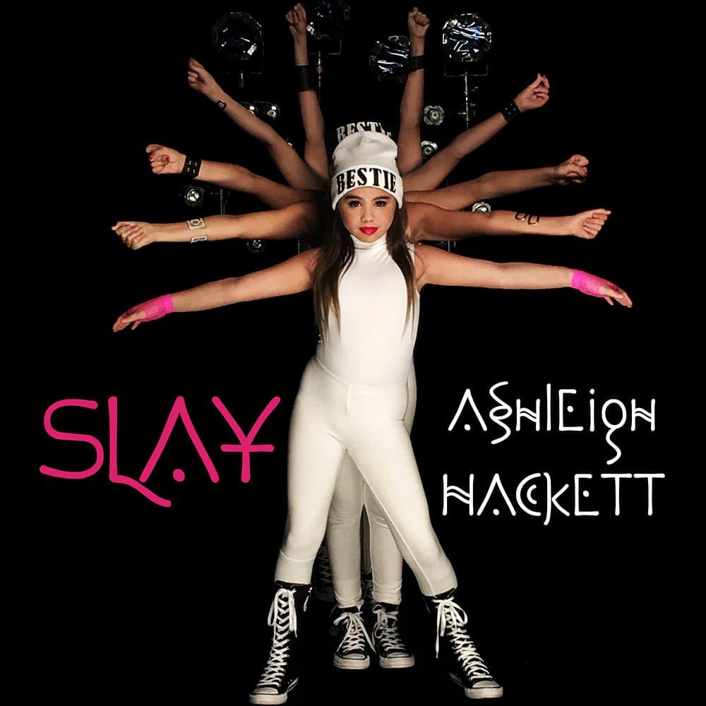 """COVER ART - ASHLEIGH HACKETT """"SLAY"""""""