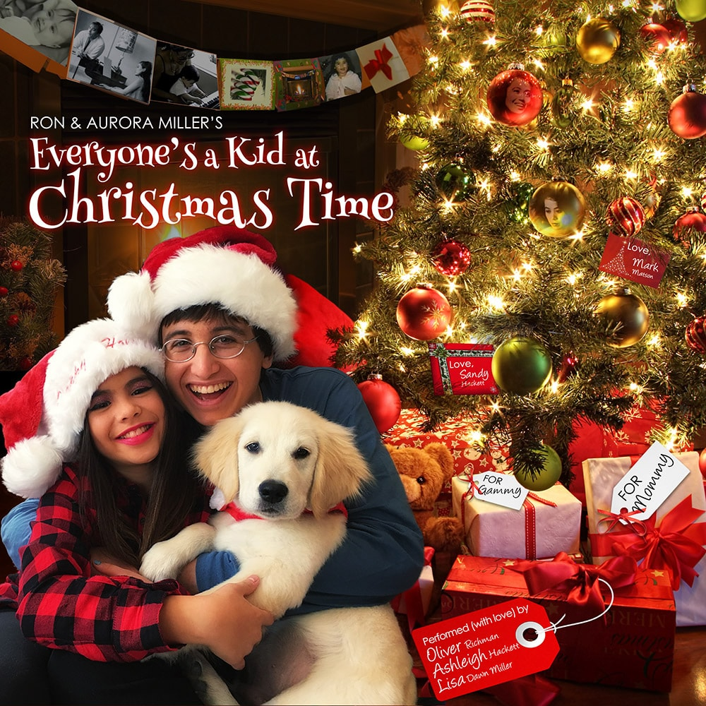 """COVER ART - LISA DAWN MILLER """"EVERYONE'S A KID AT CHRISTMAS TIME"""""""