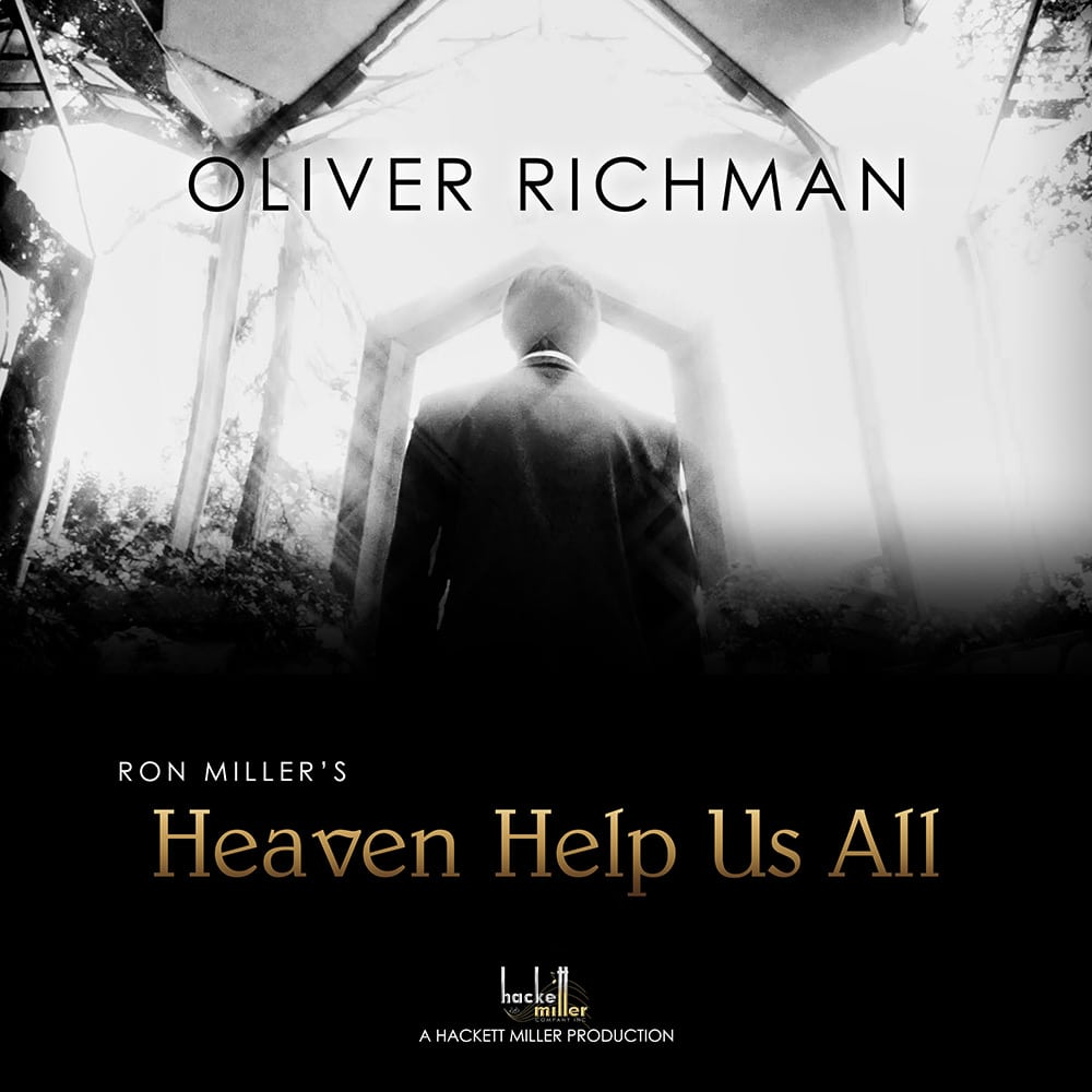 """COVER ART - OLIVER RICHMAN """"HEAVEN HELP US ALL"""""""