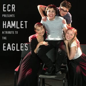"""COVER ART - OLIVER RICHMAN """"HAMLET - A TRIBUTE TO THE EAGLES"""""""