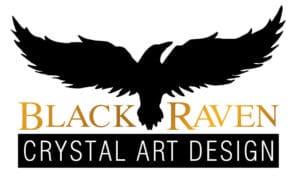 LOGO - BLACK RAVEN CRYSTAL ART