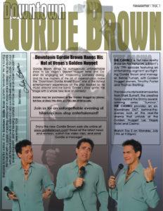 NEWSLETTER - GORDIE BROWN