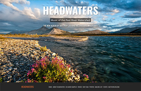 WEBSITE - HEADWATERS  -  VIEW LIVE SITE